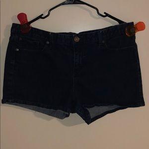Dark Wash Women's Calvin Klein Shorts